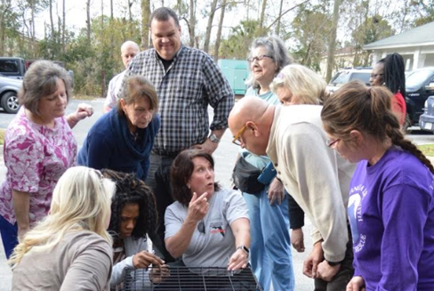 Chatham County in Georgia has recently sought the support of Florida SARC to help with pet evacuation training?