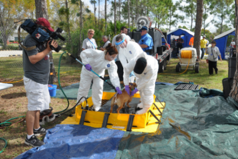 The Florida State Animal Response Coalition (SARC) is seeking volunteers to play disaster